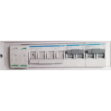 HAGER 5kW Inverter Protection Distribution Board