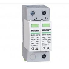 BENY PV DC SPD 40kA 2P 600V Surge Protection