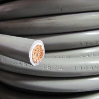35mm2 Battery Cable - 1 Core Flexible DC Power Cable GREY
