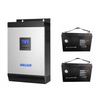 MECER 3kW Combo with 2.4 kWh energy storage