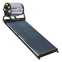 Kwikot Direct Solar Water Heater System 100 litre with 12 Vacuum Tubes
