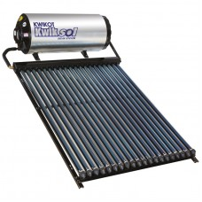 Kwikot Direct Solar Water Heater System 200 litre with 20 Vacuum Tubes