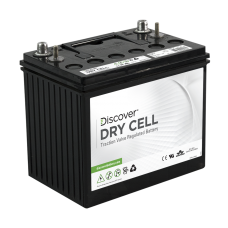 Discover Deep Cycle Dry Cell 100Ah AGM Battery (EV 27A-A)