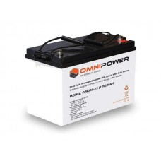 OmniPower Deep Cycle 60Ah 12V AMG/GEL Hybrid Sealed Battery