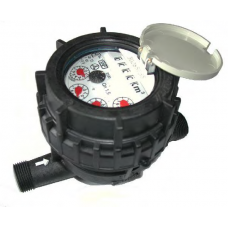 Multi-jet Domestic Water Meter Composite Meter Body 20mm